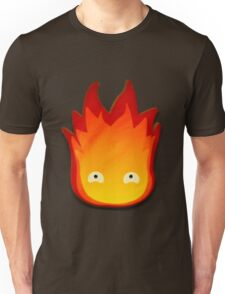 Calcifer! Howls moving castle. Unisex T-Shirt