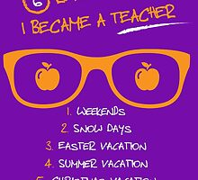 6 Reasons Why I Became A Teacher by Stylishhoop99