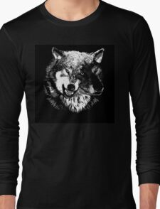 Two Headed Wolf Long Sleeve T-Shirt