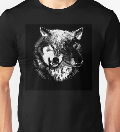 Two Headed Wolf Unisex T-Shirt