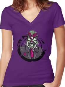 Dalek Sec Women's Fitted V-Neck T-Shirt