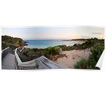 stairway to shell beach Poster