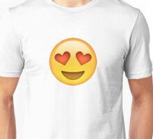 Heart Eye Emoji Unisex T-Shirt