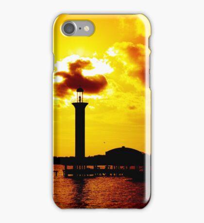 Old Biloxi Marina Light iPhone Case/Skin