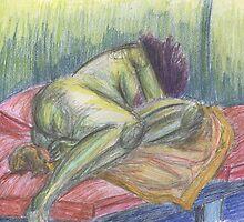 The Monster Slumbers by Kyleacharisse