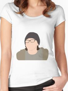 Skins UK - Sid Jenkins Women's Fitted Scoop T-Shirt