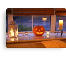 Jack in the Window Canvas Print