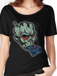 Skull & Cassette Women's Relaxed Fit T-Shirt