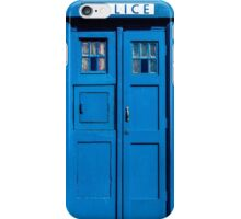 Traditional UK Police Box iPhone Case/Skin
