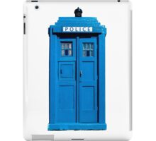 Traditional UK Police Box iPad Case/Skin