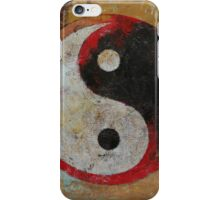 Yin Yang Dragon iPhone Case/Skin