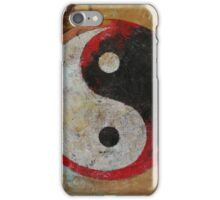 Yin Yang Red Dragon iPhone Case/Skin