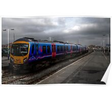 Trans Pennine Express at Blackpool North Poster