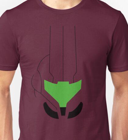 Minimalist Samus Helmet (transparent) - Metroid Prime Unisex T-Shirt