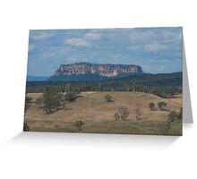 Pantoneys Crown Capertee Valley Greeting Card