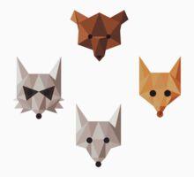 Geometric animals One Piece - Long Sleeve
