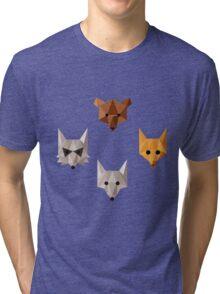 Geometric animals Tri-blend T-Shirt