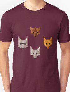 Geometric animals Unisex T-Shirt