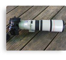 Great Big New Lens Canvas Print