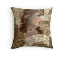 Another Time, Another Place... Throw Pillow
