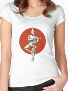 Tin Man T-Shirt Women's Fitted Scoop T-Shirt