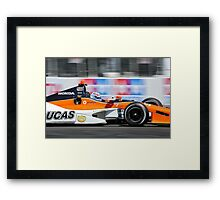 The Need For Speed Framed Print