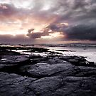 Sunset over The Atlantic on the Bundoran coast, Ireland by Ciaran  Duignan