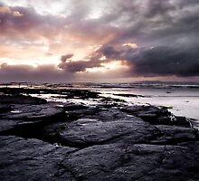 Sunset over The Atlantic on the Bundoran coast, Ireland by Ciaran  Duignan