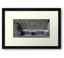 Table of content Framed Print