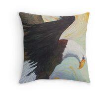 American Bald Eagle - A National Treasure Throw Pillow
