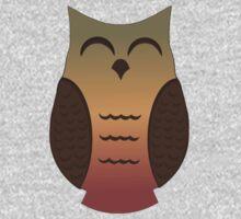 Happy Autumn Owl 2 Kids Tee