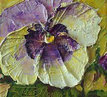 Paris' Purple Pansy by OriginalbyParis