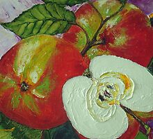 Red Jonagold Apple by OriginalbyParis