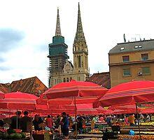 At Dolac Market   by vickimec