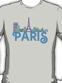 Skyline Paris T-Shirt