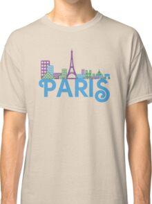 Skyline Paris Classic T-Shirt