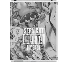 """Straight Outta Back"" iPad Case/Skin"