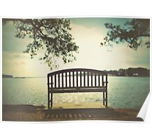 Finding Peace at Bonner Point Poster