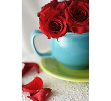 Will You have a Cup with Me? Photographic Print