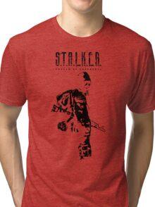Stalker SOC Black Tri-blend T-Shirt