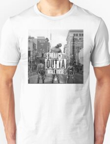 """SnK """"Straight Outta Wall Rose"""" T-Shirt"""