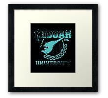 Midgar University Framed Print