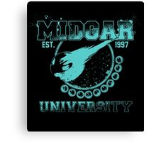 Midgar University Canvas Print