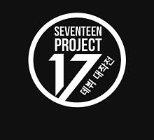 Seventeen Project, White Text Unisex T-Shirt