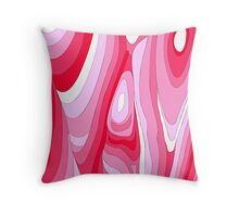 Pink! Throw Pillow
