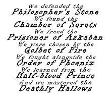 Harry Potter generation Photographic Print
