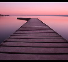 Pink Horizon by BevRice