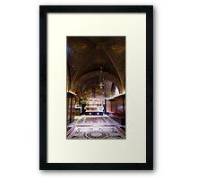 Cross Road Framed Print