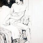 girl on bed, 2009 by Thelma Van Rensburg