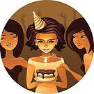 birthdays party by Anastasiia Kucherenko